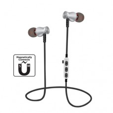 Deepbass In-Ear Metal Bluetooth Headset Stereo MS-T5 – Ασημί