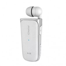 Firo In-Ear Retractable Bluetooth Headset H108 - Λευκό
