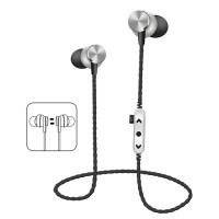 Hebu In-Ear Bluetooth Stereo Headset MS-T13 - Μαύρο/Ασημί