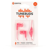 Griffin Tunebuds Headset Stereo In-Ear – Ροζ (GC38205)
