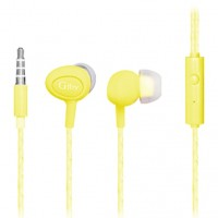 OEM In Ear Gjby Candy GJ-362 – Κίτρινο