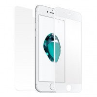Mocoll 2nd Generation Fullcover 3D Tempered Glass για Apple iPhone 7/8 - Λευκό