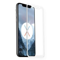 Star Case Fullcover Premium 3D Tempered Glass για Apple iPhone X/XS (Front/Back) - Λευκό
