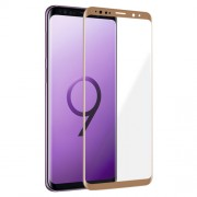 Star Case Premium 3D Fullcover Tempered Glass για Samsung Galaxy S9 Plus – Χρυσό (Blister)
