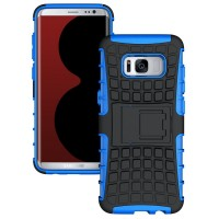 OEM Armor Kickstand Cover για Samsung Galaxy S8 Plus – Black/Blue