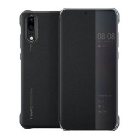 Original Huawei Smart View Book Case για Huawei P20 – Μαύρο (51992399)