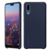 Original Silicone Cover για Huawei P20 – Μπλε (51992363)