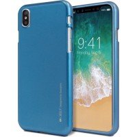 Mercury Ultra Slim Metal TPU Case Pro για Apple iPhone X/XS - Μπλε