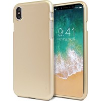 Mercury Ultra Slim Jelly TPU Case Pro για Apple iPhone X/XS - Χρυσό
