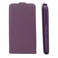 OEM Flip Case Leather για LG L90 - Μωβ