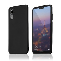 Okkes Basic TPU Case για Huawei P20 – Μαύρο