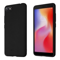 Okkes Basic TPU Case για Xiaomi Redmi 6A - Μαύρο