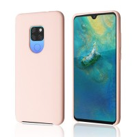 Okkes Liquid Silicone Case για Huawei Mate 20 – Pink Sand