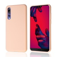 Okkes Liquid Silicone Case για Huawei P20 Pro – Pink Sand