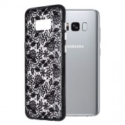 Okkes Print Spring Flower TPU για Samsung G955F Galaxy S8 Plus – Clear