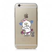 Exclusive Back Case Cony s Gym για iPhone 6/6S (HM23) – Λευκό