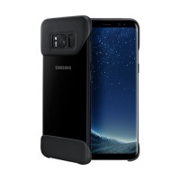 Original Samsung 2 Piece Cover EF-MG955CBEGWW για Samsung G955 Galaxy S8 Plus – Μαύρο