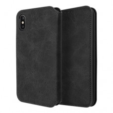 Xundd Book Case Gra Series για Apple iPhone XS Max - Μαύρο
