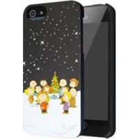 iLuv Faceplate Snoopy Peanuts Xmas Edition για Apple iPhone 5/5S/SE – Γκρι