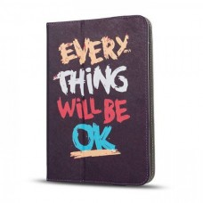 "GreenGo Universal Θήκη Tablet Everything Will Be OK 7"" - 8"""